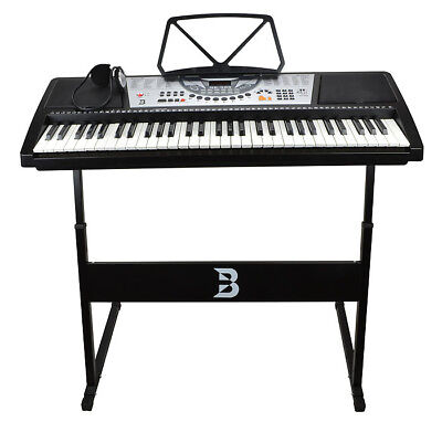 Bryce 61 Key Electronic Keyboard with Stand & Headphones