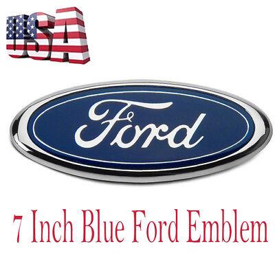 """7/"""" FOR EMBLEM Logo Rear Front Grille For F150 F250 RANGER ESCAPE EXCURSION"""