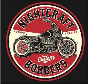 Custom Bobber Motorbike Boulevard