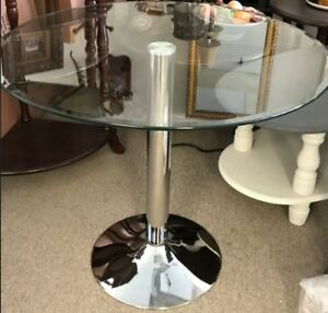 Dining Table,glass top,new in the box
