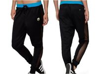 RITA ORA BLACK BLUE ADIDAS Track pants