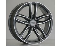 """20"""" RS6-C Style Alloys will fit Audi A4, A5, A6 etc"""