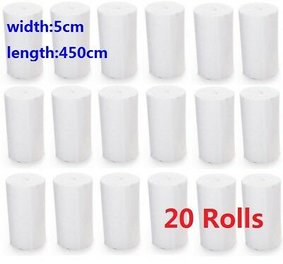 20 Rolls Medical Bandage Tape Finger Joint Wrap Sports Strap Care Halloween](Halloween Bandages)