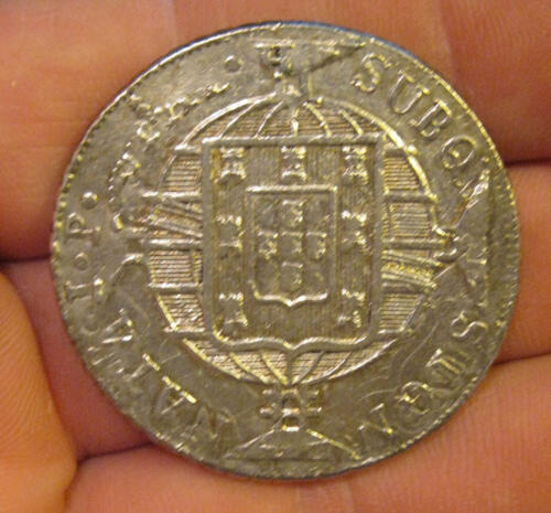Brazil - 1821 Large Silver 960 Reis - Nice Coin!