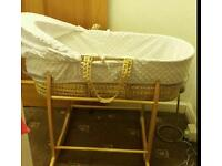 New born baby cot