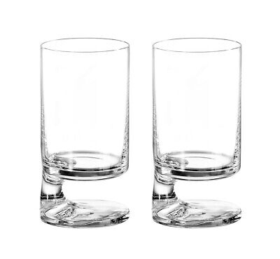 Smoke Joe Colombo Acqua Water Glass (Twin Pack) 28cl