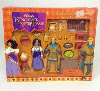 1990s Halloween Disney Movies (Disney's The Hunchback Of Notre Dame Esmeralda Phoebus Figure Sealed Mattel)