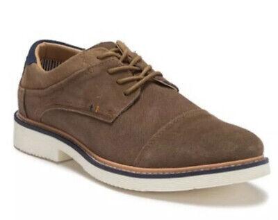 Reserved Footwear Shoes For Men Size 11 NEW IN BOX Cap Toe Derby Brown AWESOME na sprzedaż  Wysyłka do Poland