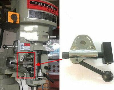 Bridgeport Milling Machine Feed Bracket Vertical Mill Head Gear Slide Group Part