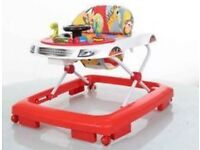 Chad Valley Rainbow Lights & Sounds Baby Walker