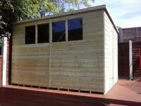 NEW GARDEN SHED 'BROMLEY' 6 x 4 £257