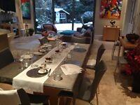 John Lewis - Strata - Large Dining Table - Maple Veneer - Balham / Tooting