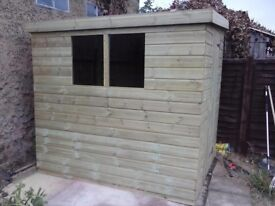 NEW GARDEN SHED 'OLD BEXLEY' 10 x 6 £509