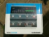 TC electronic nova system boxed with instructions excellent condition