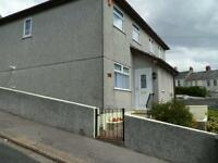 Modern 2 bedroom unfurnished semi-detached house with small garden and gated hardstanding