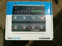 TC electronic nova system excellent condition boxed with instructions