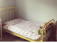 Yellow Bed
