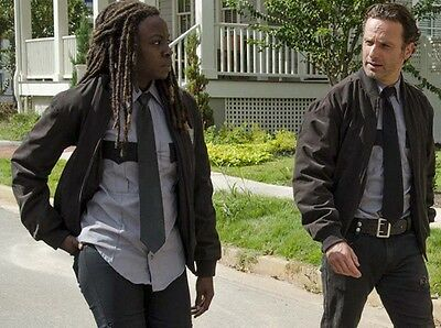 Walking Dead MICHONNE RICK GRIMES Alexandria Costume SHIRT & TIE ()
