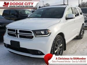 2017 Dodge Durango GT AWD | Htd.Leather, Bup Cam, Rem.Start