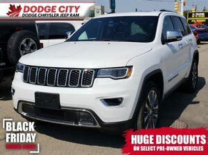 2018 Jeep Grand Cherokee Limited 4x4 | Htd.Leather, Bup Cam, Dua