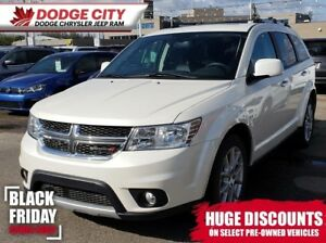 2018 Dodge Journey GT AWD | 7Pass, DVD, Nav, Leather