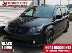 2018 Dodge Grand Caravan GT | Bup Cam, DVD, Htd.Leather, BTooth