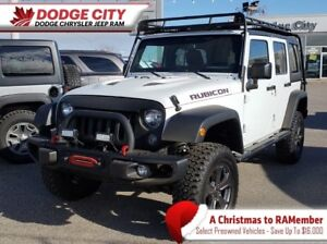 2014 Jeep WRANGLER UNLIMITED Rubicon X 4x4 | Rem.Start, Htd.Leat