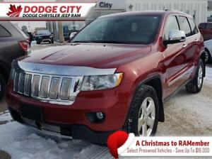 2012 Jeep Grand Cherokee Limited 4x4 | Leather, SRoof, Nav