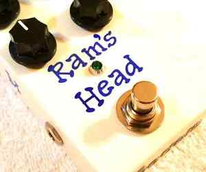 Modified Big Muff Fuzz clone 73 Violet Ram's Head by TL Pedals