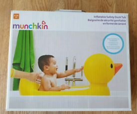 BRAND NEW MUNCHKIN Inflatable Safety Duck Tub Baby Bath