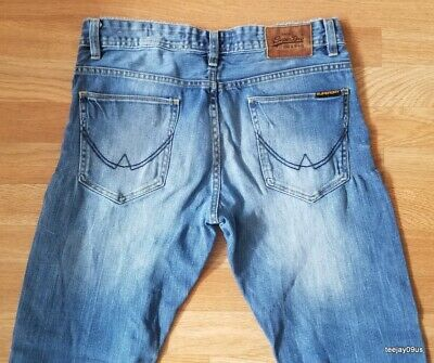 ~MINT Cond!~ Men's SuperDry CORPORAL SLIM Stretch Jeans 32 X 32