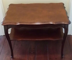 Two Matching End Tables