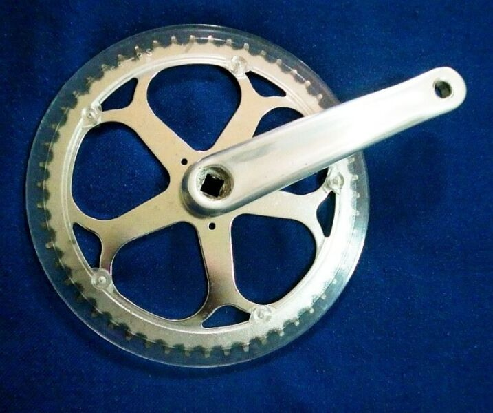 ~~~ BiCyCLe SinGle Chain Ring SinGLe Crank , 52T $38 ~~~