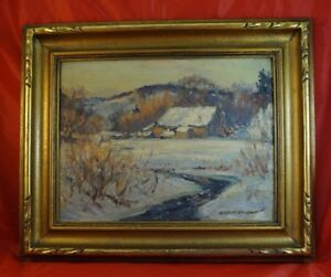 Just Found Two MANLY MACDONALD Framed Oil on Board