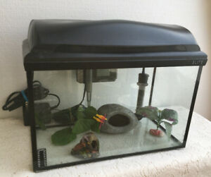 5 Gallon Aquarium Complete Set up with Lights/filter/heather,etc