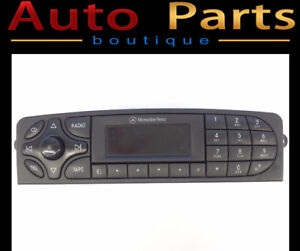 Mercedes C350, CLK55 2004-2009 Radio Control Unit ALPINE CM1330