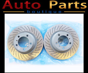 Porsche 911 Turbo GT2 2007-2013 Rear Brake Disc PAIR 99735240601