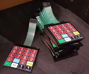 Keypad pour machine distributrice Combo