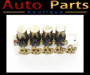 Mercedes 500SL 92  Top Hydraulic Valve Block Solenoid Left 30106