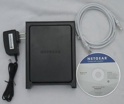 (Netgear WNR2000 V3 RangeMax WirelessN Router Access point broadband Switch WIFI)