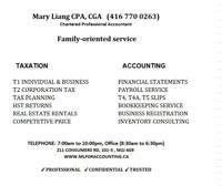 Mlfor Accounting Inc. (CPA, CGA) Tax & Accounting