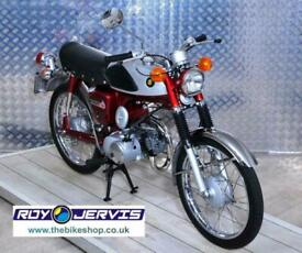 1970 (H) Suzuki AS50 Moped 49cc Red Fully Restored OE Parts - 70 Miles