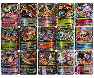 Pokemon 60 Card Holo Flash 25 Gx Cards Sm Sun Moon  35 Ex Mega Charizard For Kid
