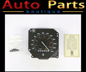 Rolls Royce Flying Spur Silver Spirit Speedo Replacement CD6610