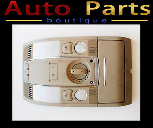 AUDI A6 2005-2011 DOME LIGHT W/SUNROOF SWITCH 4F0947135BR