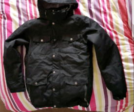 Firefly Black Mens Jacket. Excellent Condition.