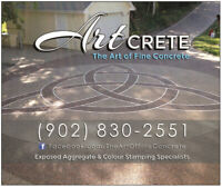 Concrete Driveways - Steps - Patio's & Pool Decks