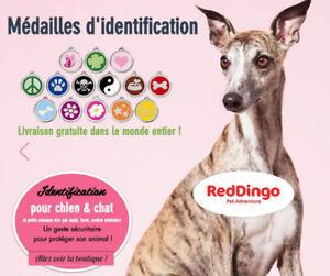 Médailles d'identification personnalisée pour animaux