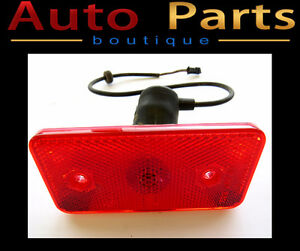 Mercedes-Benz OEM Genuine Left or Right Red Side Reflector