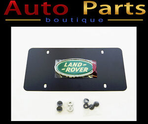 Land Rover Discovery 1994-2004 OEM License Plate Logo LR007529